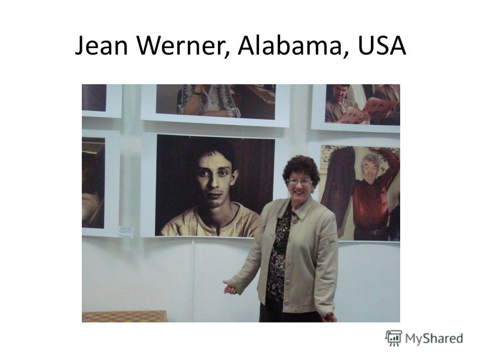 Jean Werner, Alabama, USA