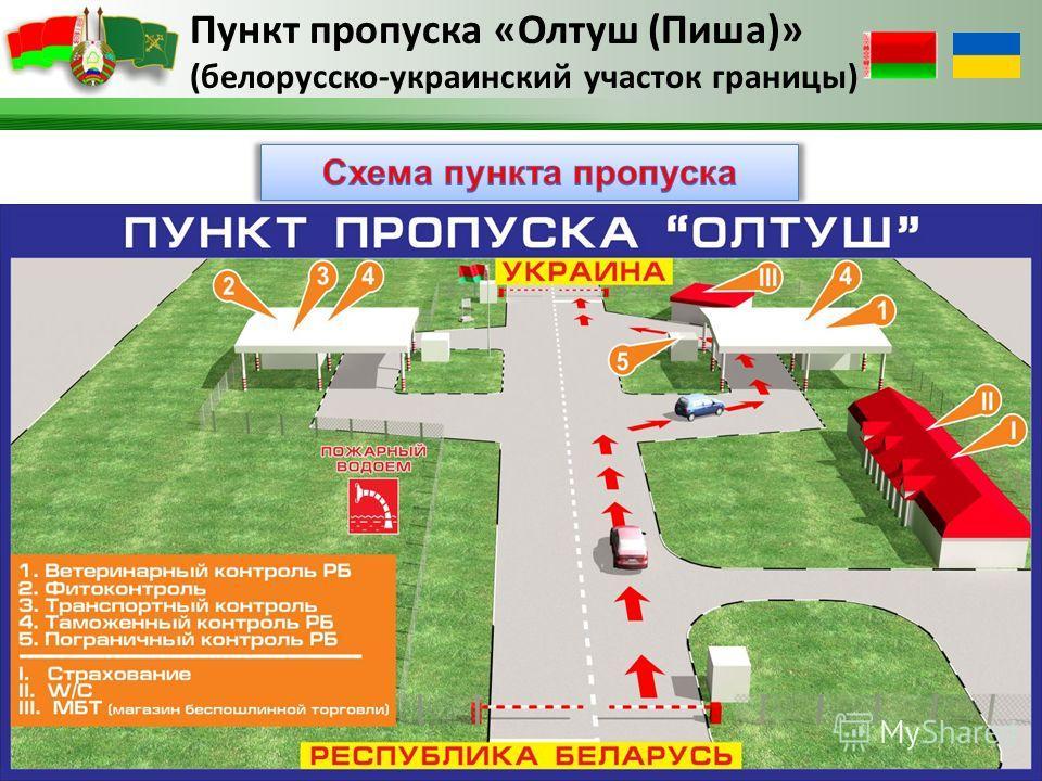Пункт пропуска «Олтуш (Пиша)» (белорусско-украинский участок границы)