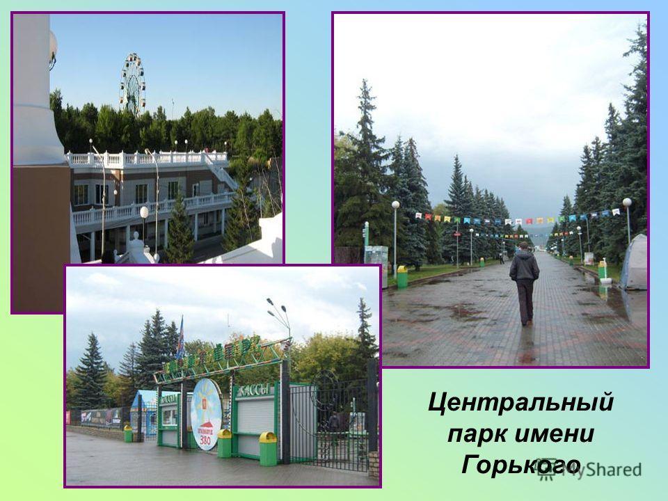 Центральный парк имени Горького