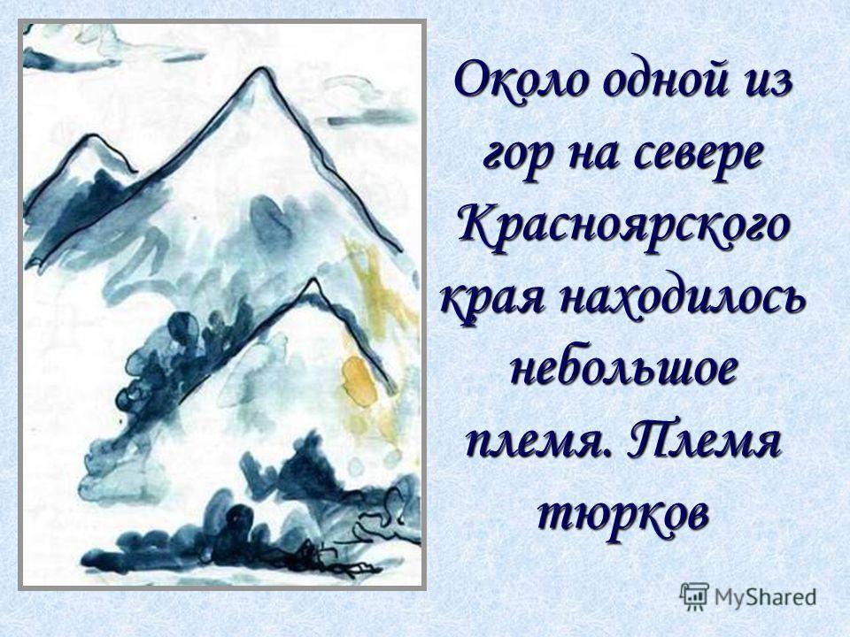 Около одной из гор на севере Красноярского края находилось небольшое племя. Племя тюрков