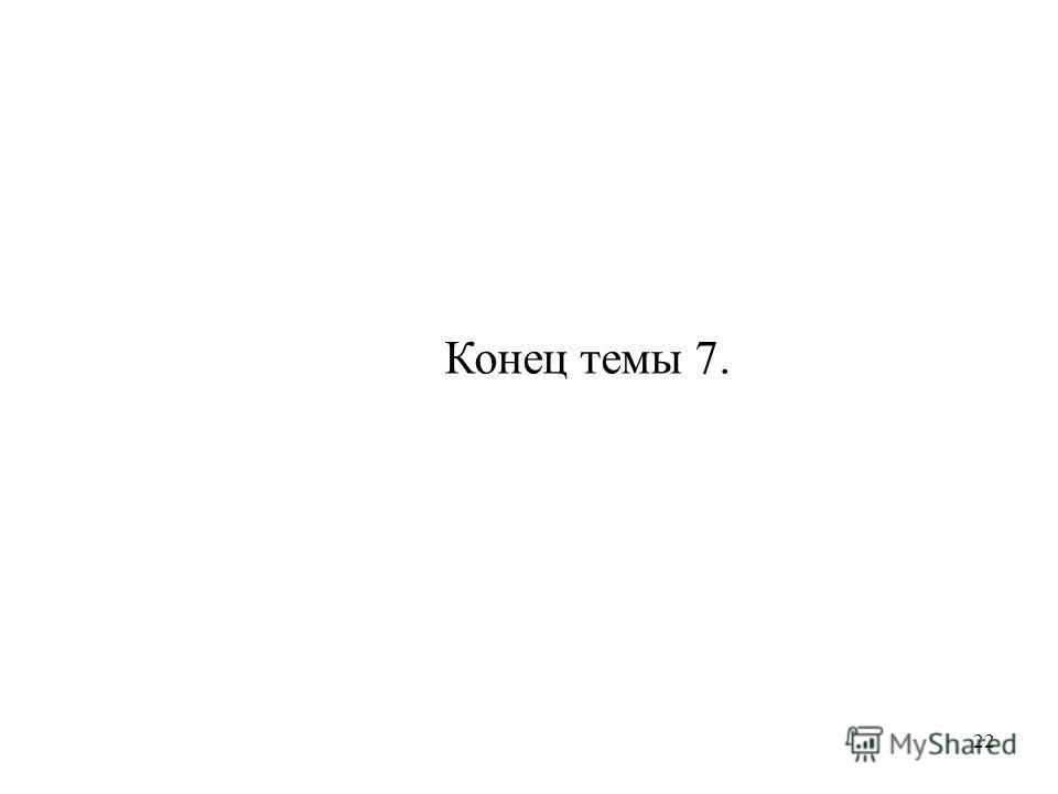 22 Конец темы 7.