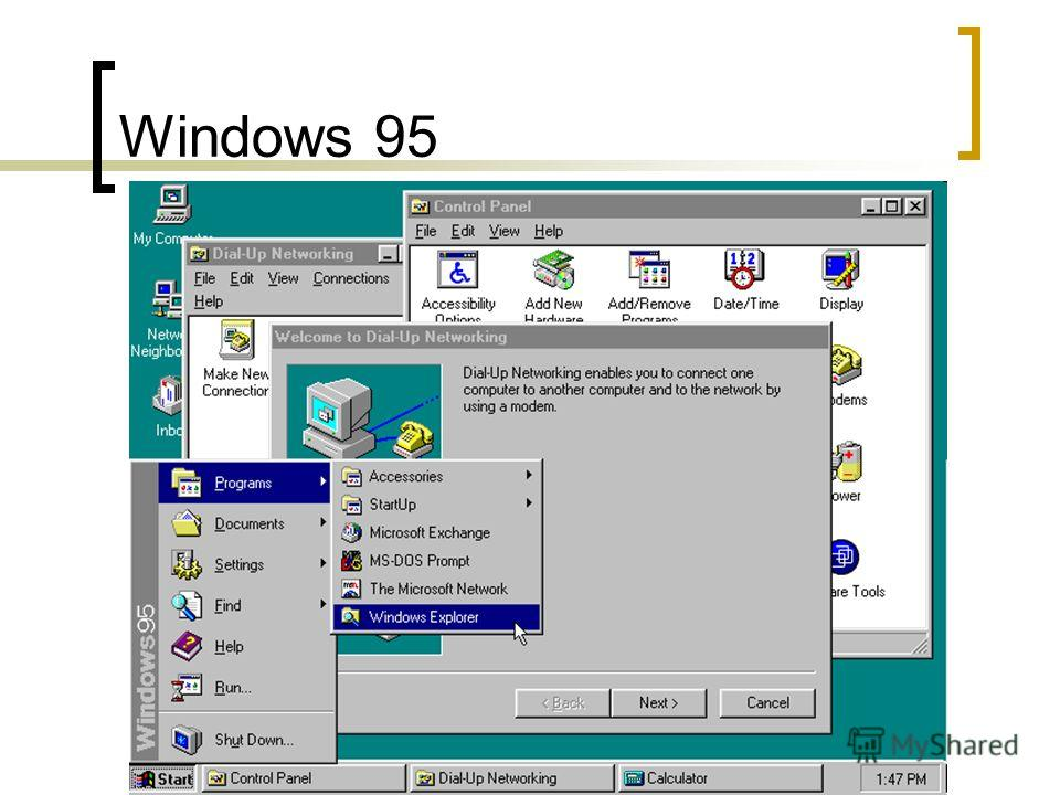 Демидов А.В. 2008 г. Windows 95