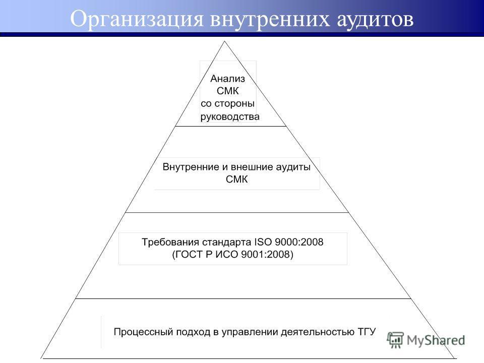 Организация внутренних аудитов