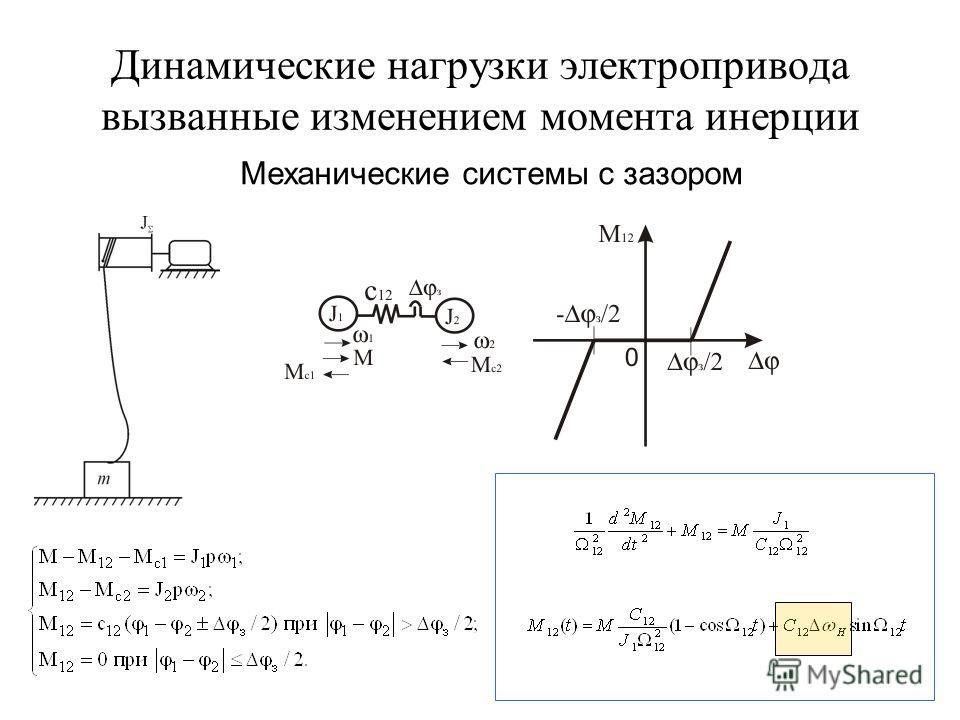 Механические системы с зазором