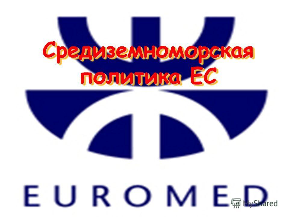 Средиземноморская политика ЕС