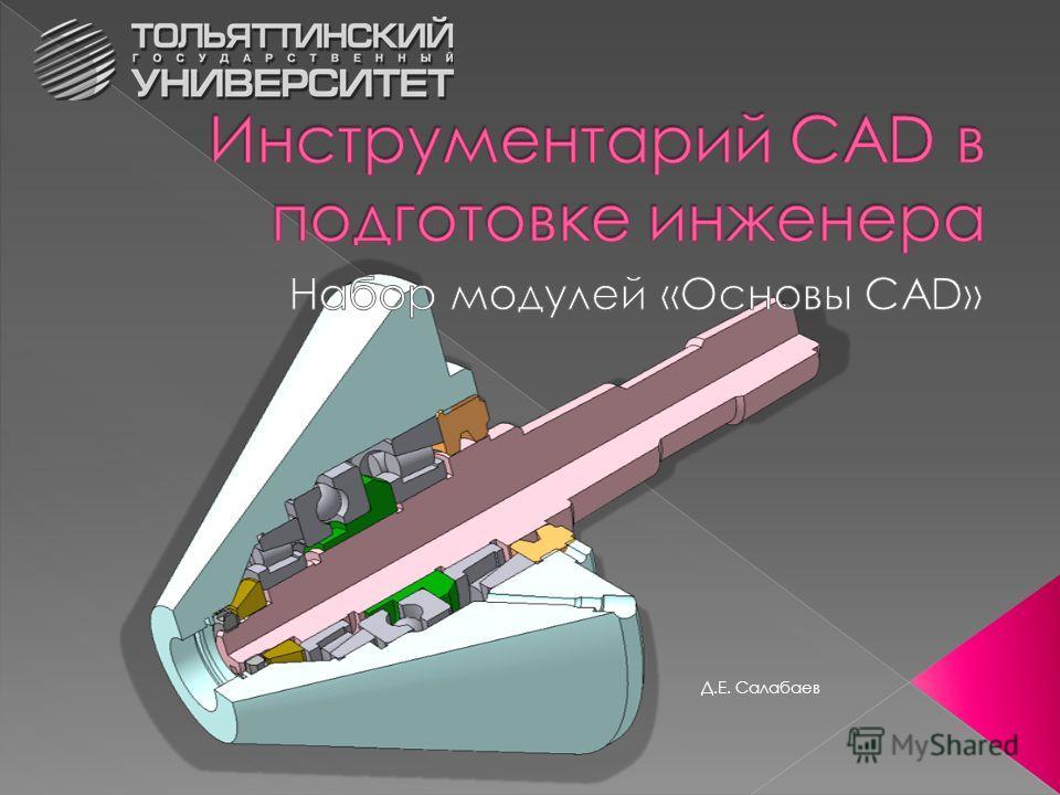 Д.Е. Салабаев