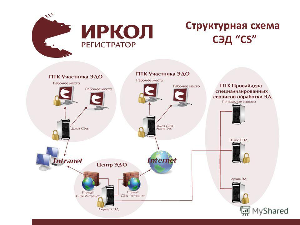 Структурная схема СЭД CS