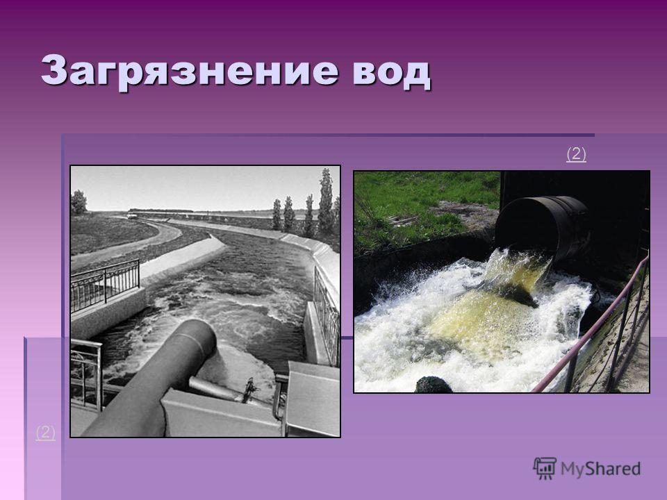 Загрязнение вод (2)