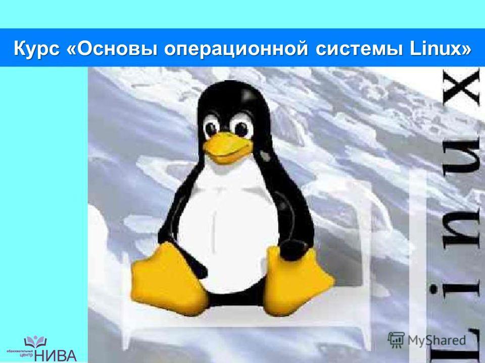 Курс «Основы операционной системы Linux»