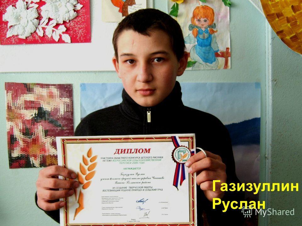 Газизуллин Руслан