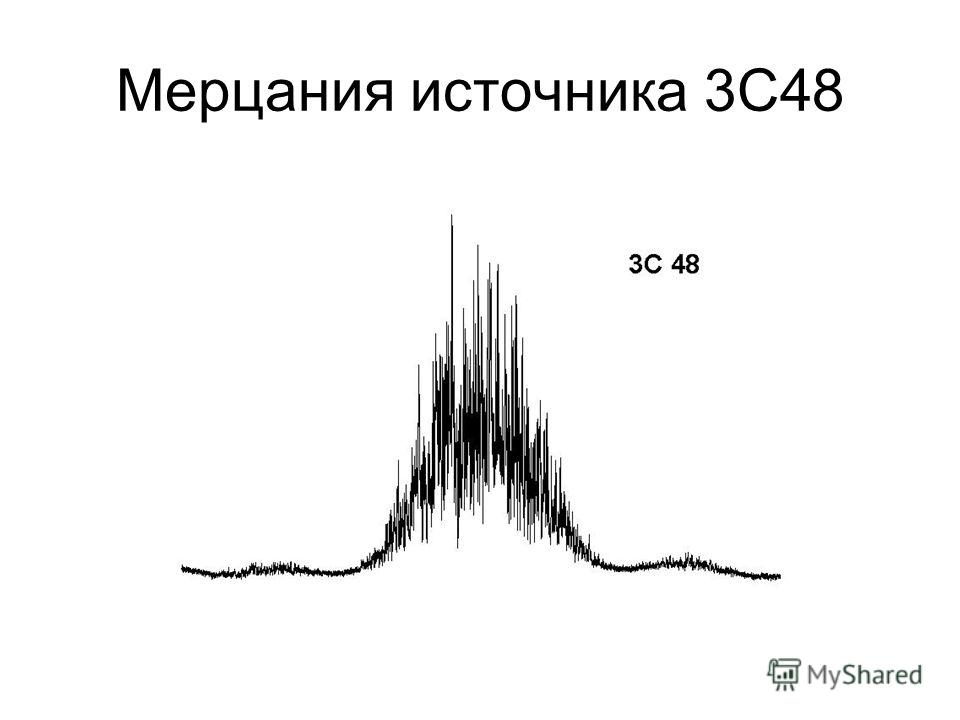 Мерцания источника 3С48