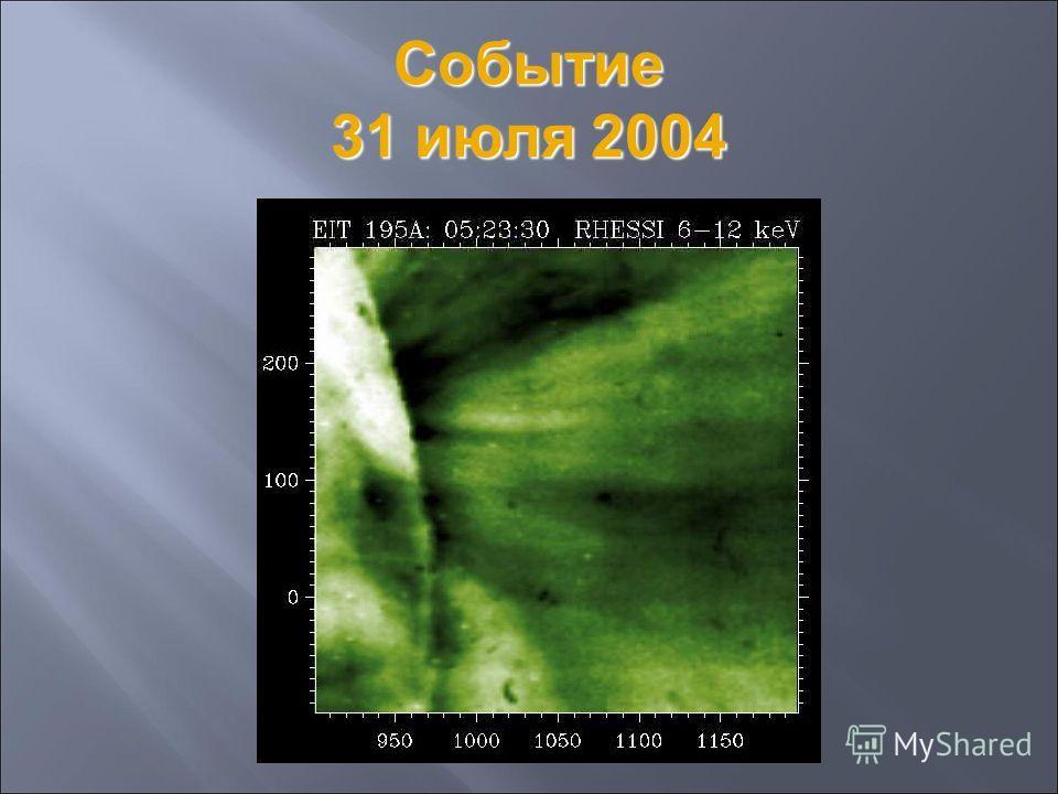 Событие 31 июля 2004