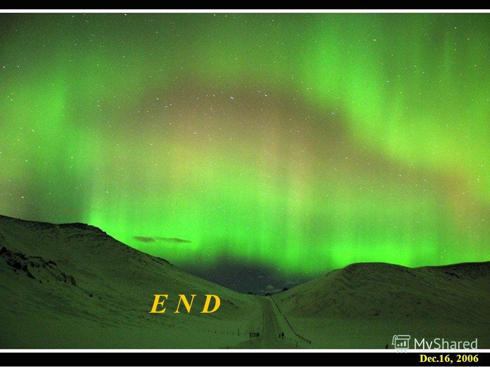 ИКИ, февраль 2009 Dec.16, 2006 E N D