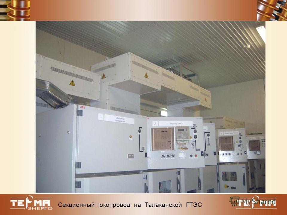 Делитель напряжения 6 кВ/100 В ИДЭЛ 6-1,5 Секционный токопровод на Талаканской ГТЭС