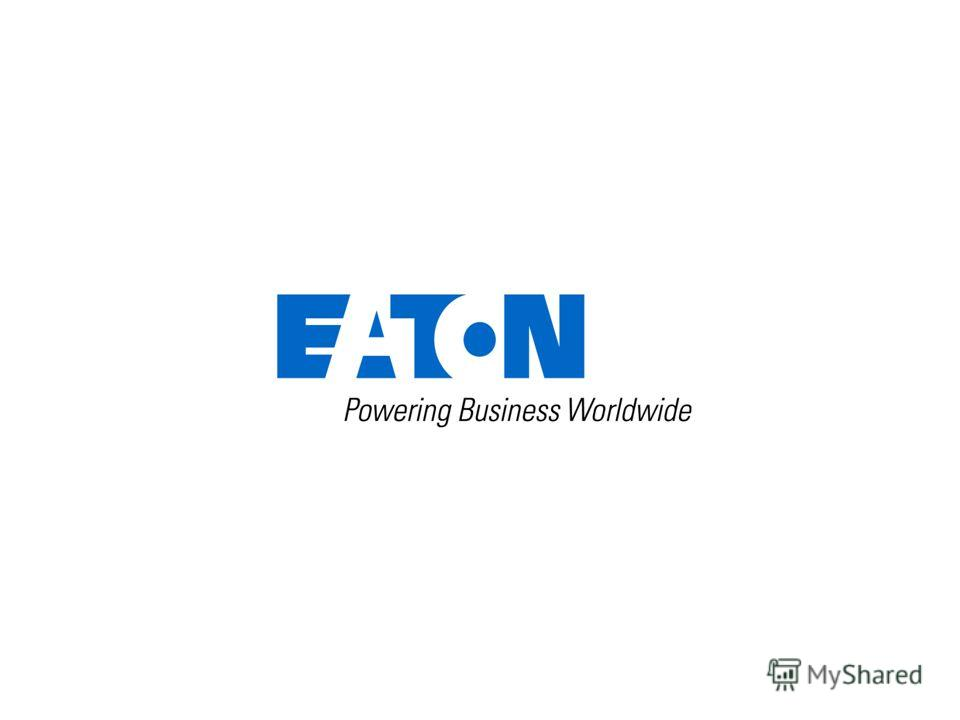 24 © 2012 Eaton Corporation. All rights reserved.