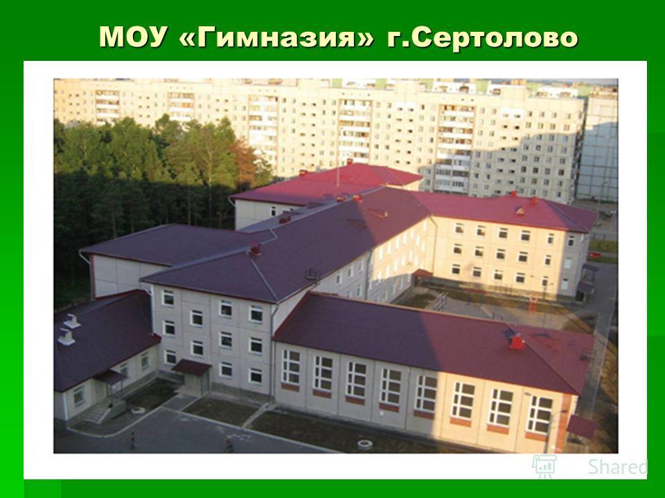 МОУ «Гимназия» г.Сертолово