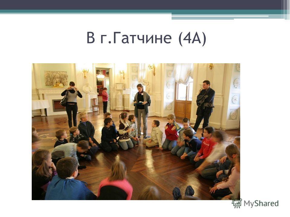 В г.Гатчине (4А)