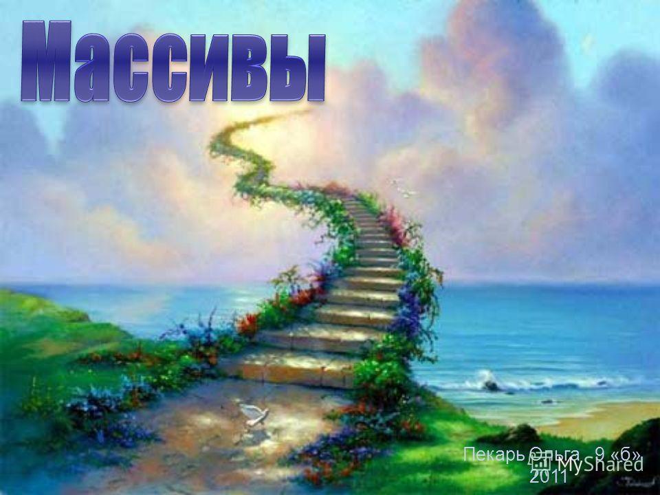 Пекарь Ольга 9 «б» 2011