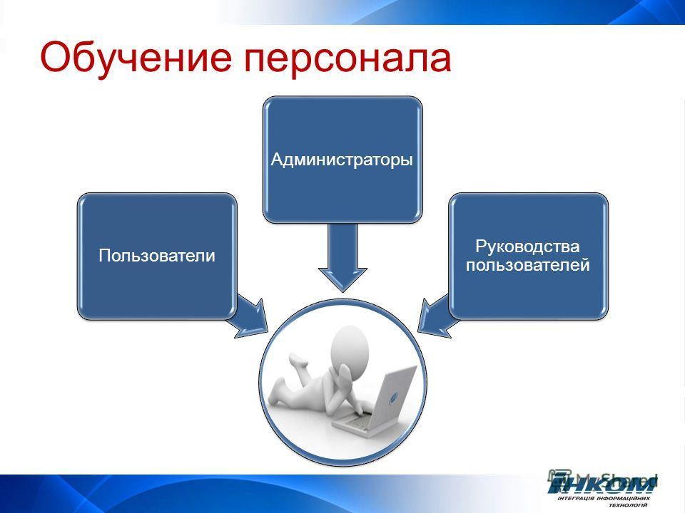ПользователиАдминистраторы Руководства пользователей Обучение персонала