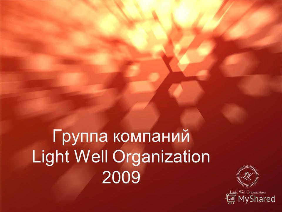 Группа компаний Light Well Organization 2009