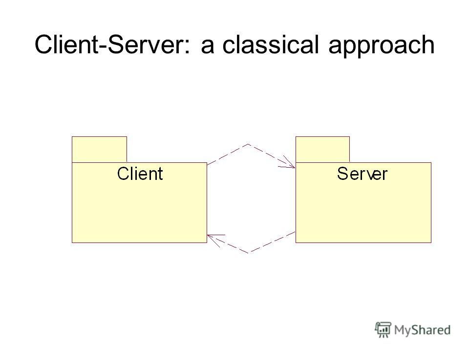 Client-Server: a classical approach