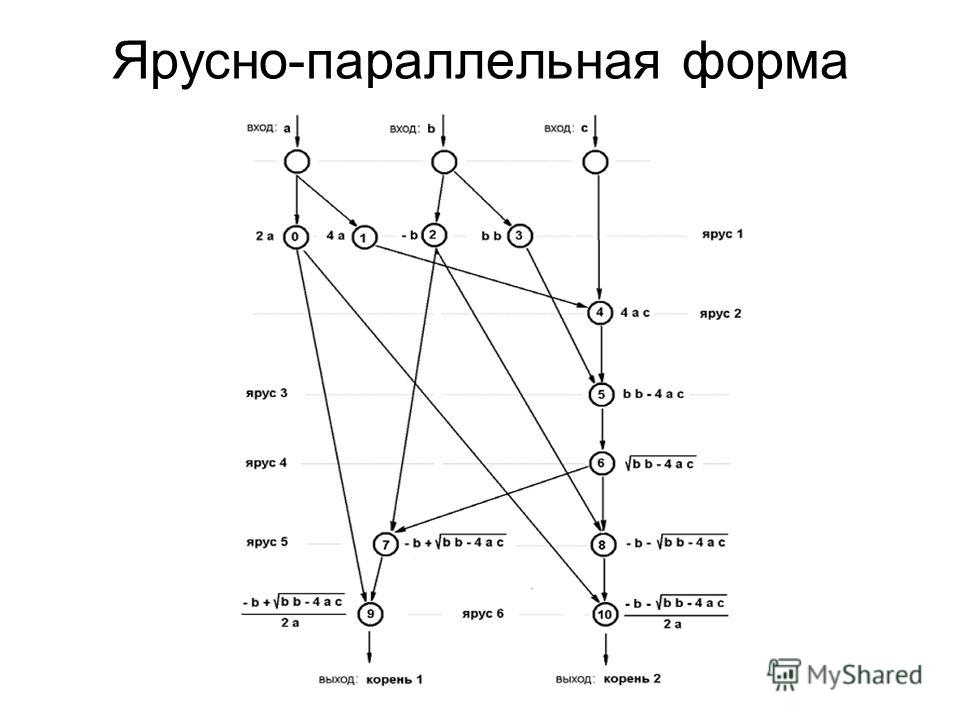 Ярусно-параллельная форма