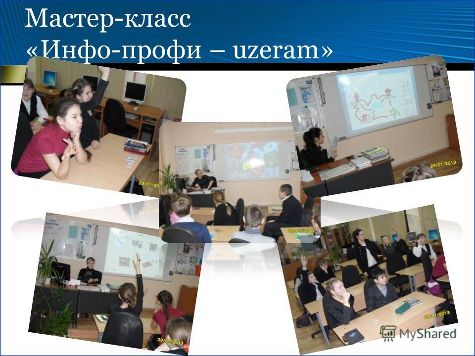 Мастер-класс «Инфо-профи – uzeram»