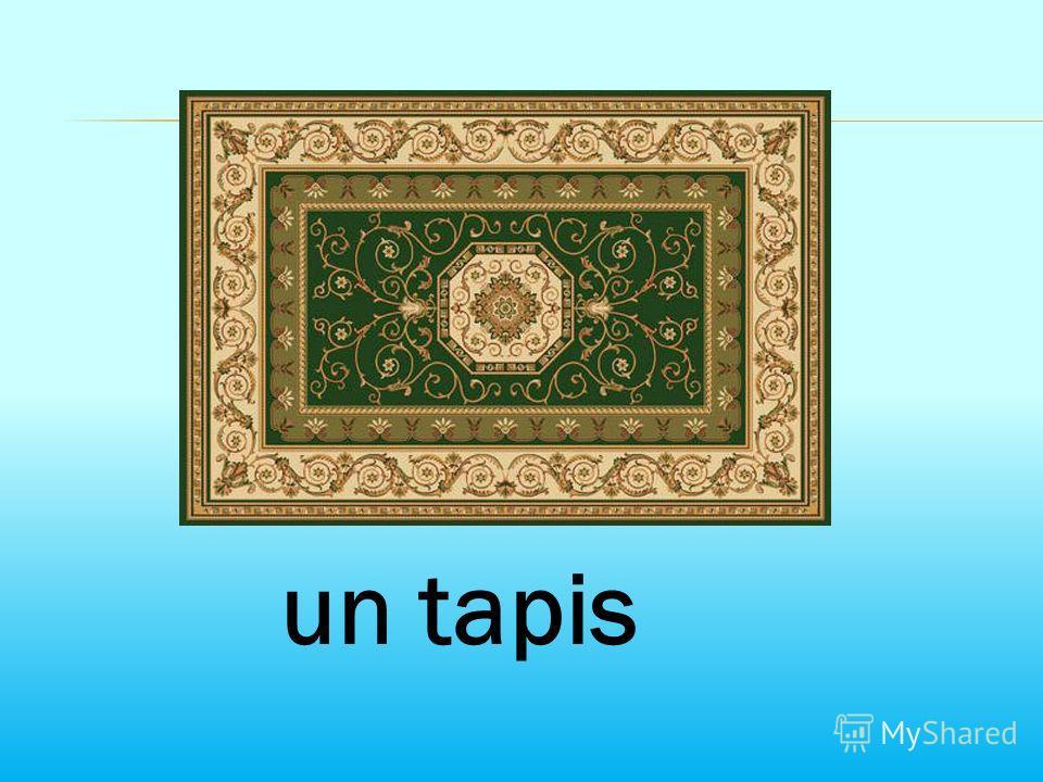 un tapis
