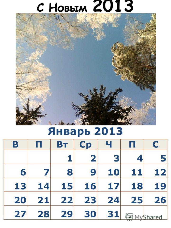 Январь 2013 ВПВтСрЧПС 12345 6789101112 13141516171819 20212223242526 2728293031 С Новым 2013 Годом! Happy New Year of the Snake!