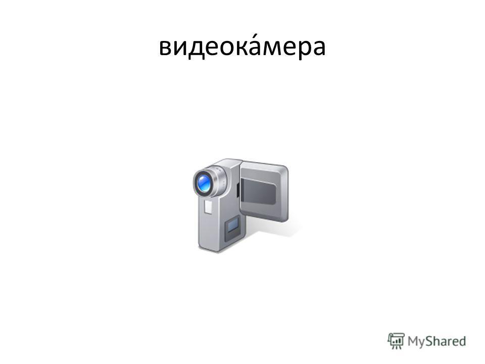 видеока́мера