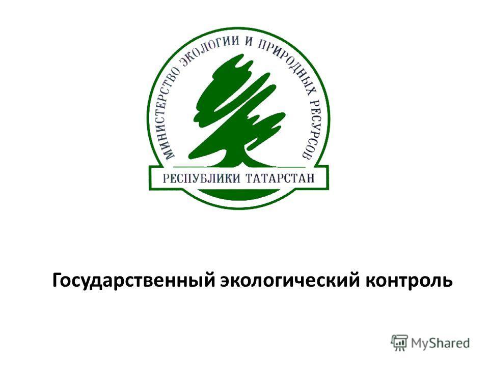 Государственный экологический контроль