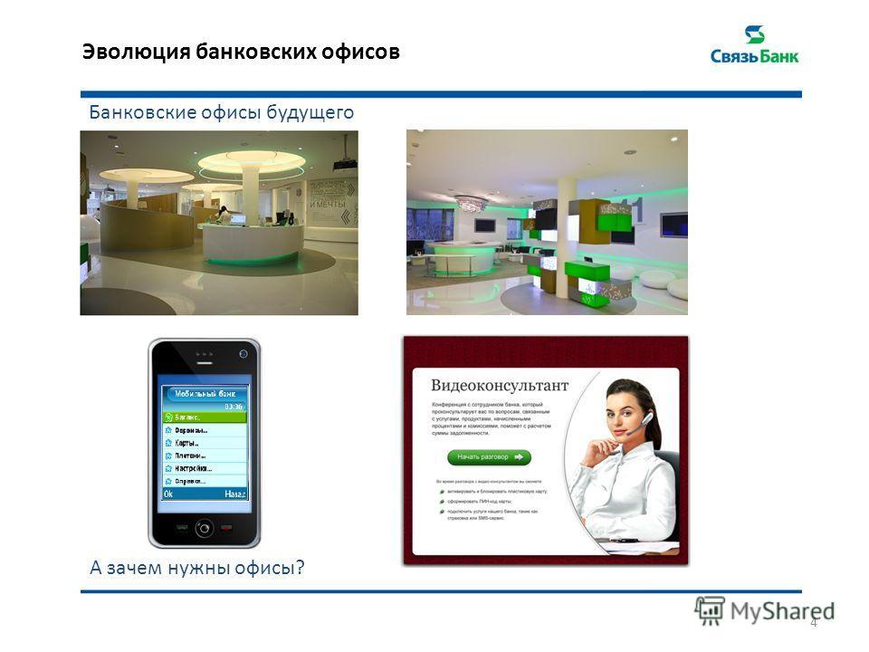 Эволюция банковских офисов 4 Банковские офисы будущего А зачем нужны офисы?