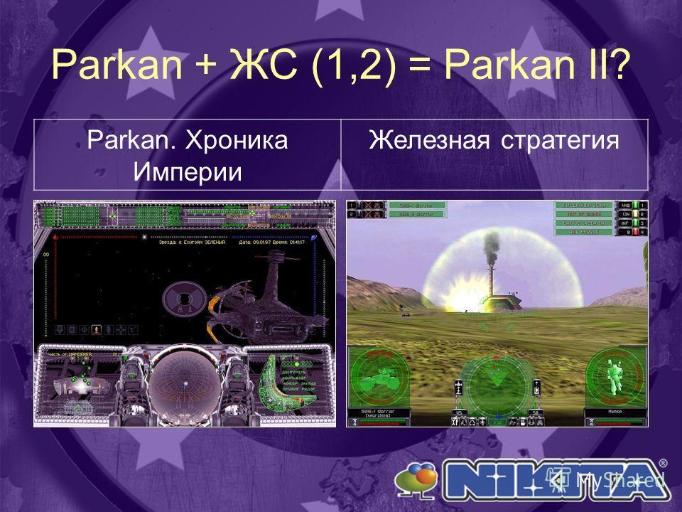 Parkan + ЖС (1,2) = Parkan II? Parkan. Хроника Империи Железная стратегия