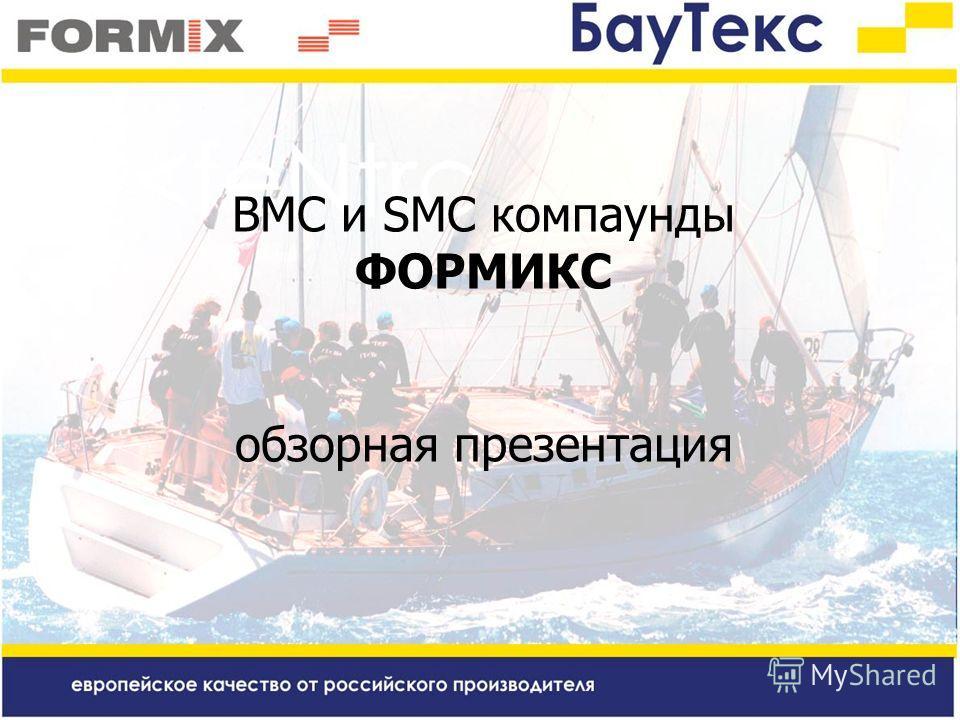 BMC и SMC компаунды ФОРМИКС обзорная презентация