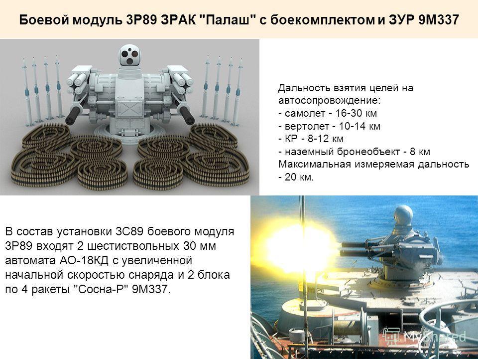 Боевой модуль 3Р89 ЗРАК
