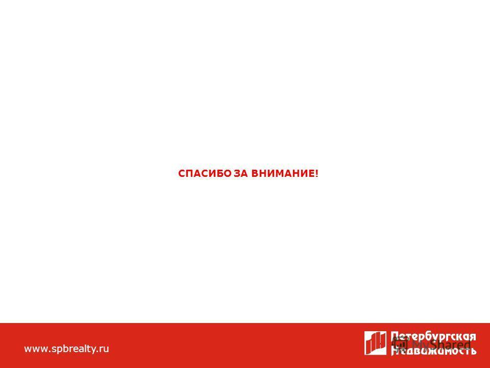 Внешний вид сотрудников ЦРП «Петербургская Недвижимость» www.spbrealty.ru СПАСИБО ЗА ВНИМАНИЕ!