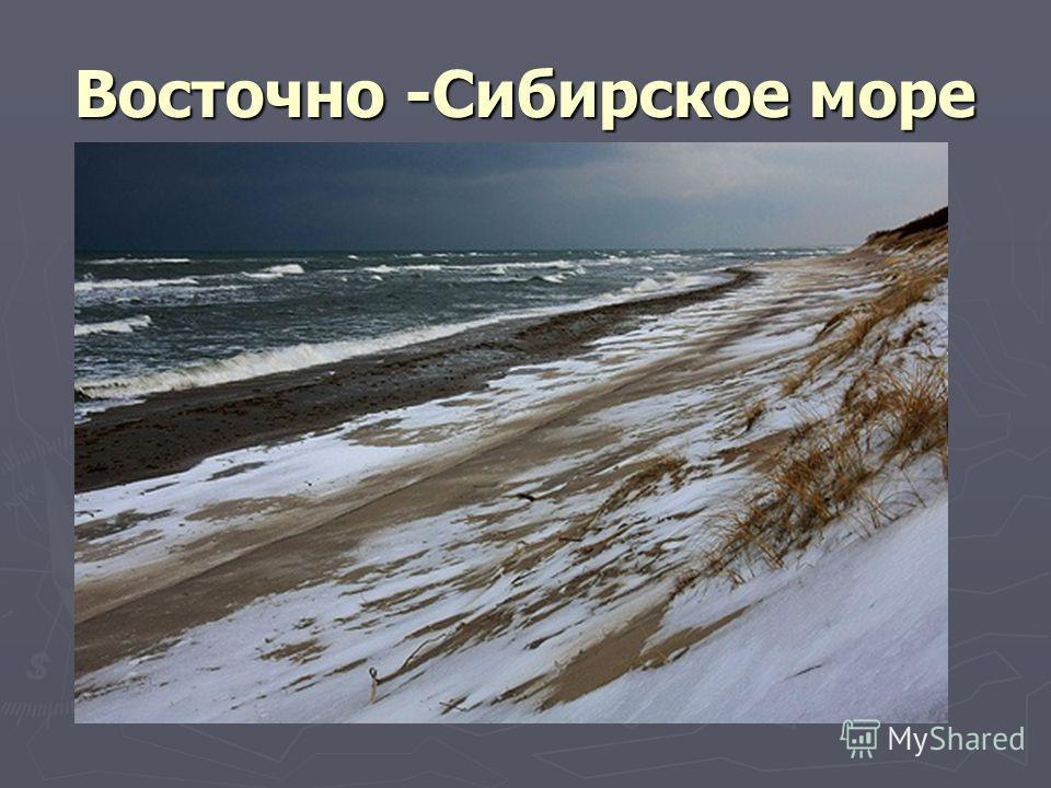 Восточно -Сибирское море