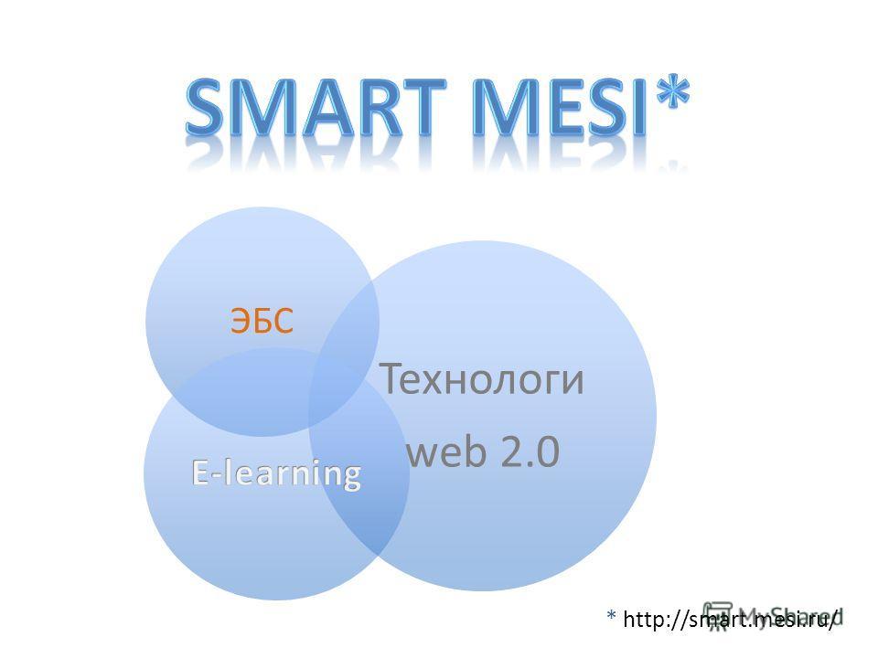 ЭБС Технологи web 2.0