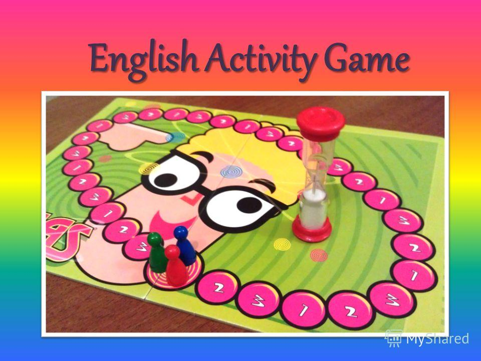 English Activity Game