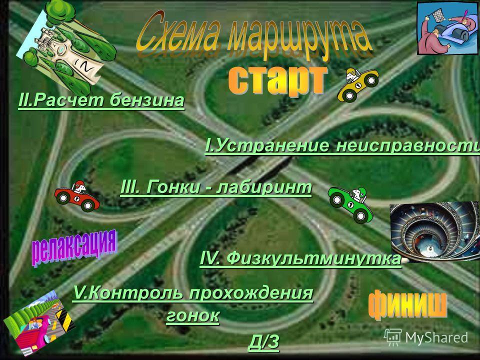 3 команда Тип машин - обычные 1 команда Тип машин - гоночные 2 команда Тип машин - скоростные Навигатор 2 3