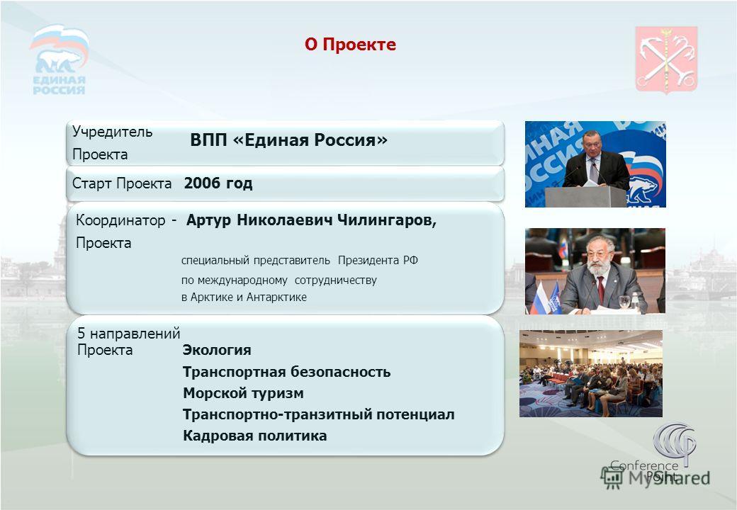 О Проекте ВПП «Единая Россия»