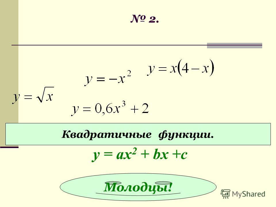 2. Функции обратной пропорциональности. у = k/x И все!