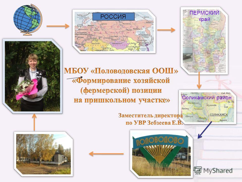 РОССИЯ ПЕРМСКИЙ край Соликамский район