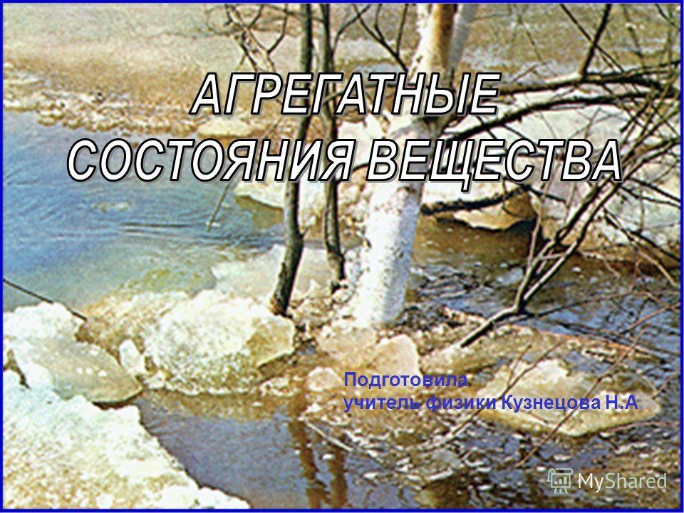 Подготовила учитель физики Кузнецова Н.А.