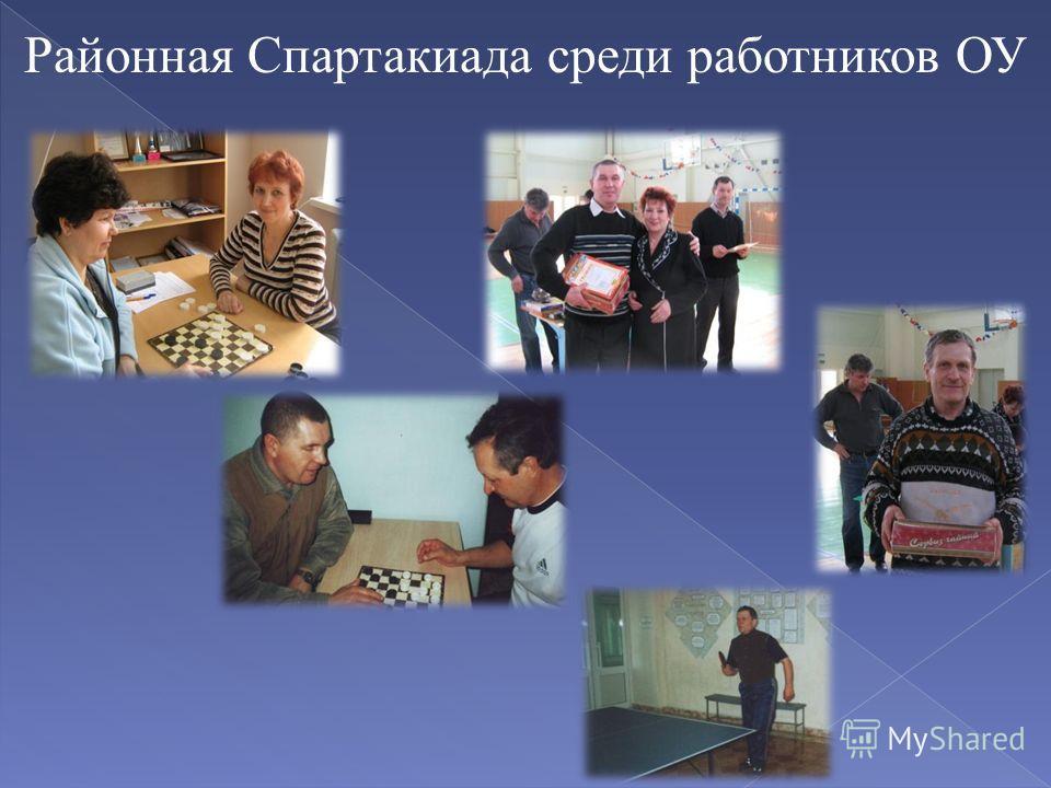 Районная Спартакиада среди работников ОУ