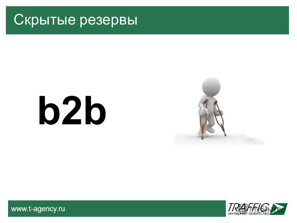 www.t-agency.ru b2b Скрытые резервы