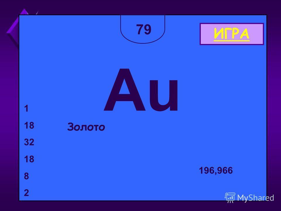 79 Au Золото 1 18 32 18 8 2 196,966 ИГРА