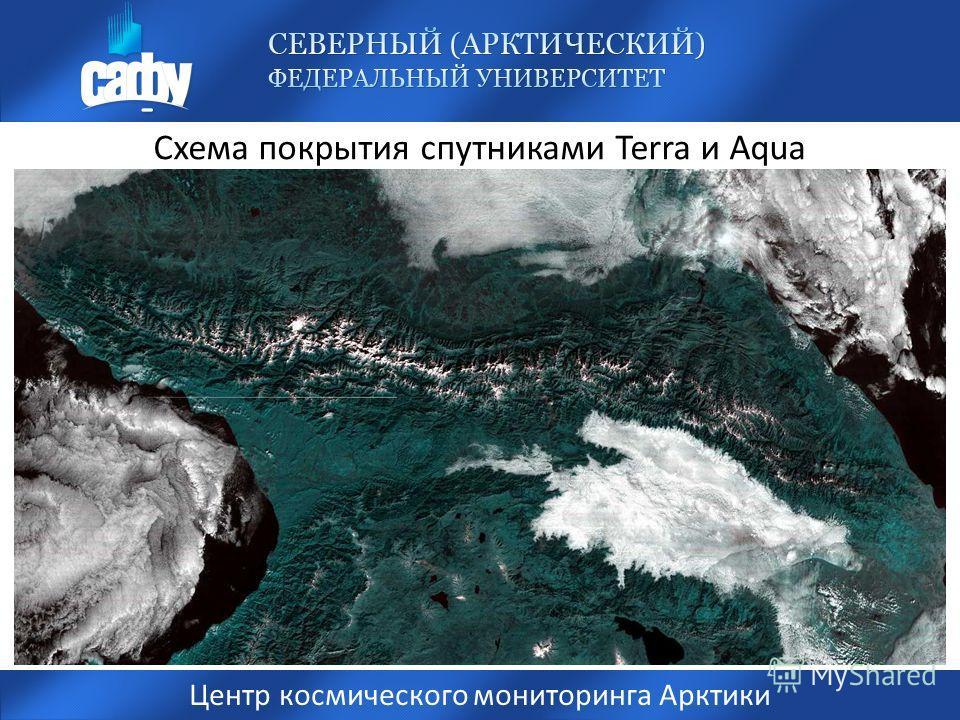 Схема покрытия спутниками Terra и Aqua Центр космического мониторинга Арктики Архангельск