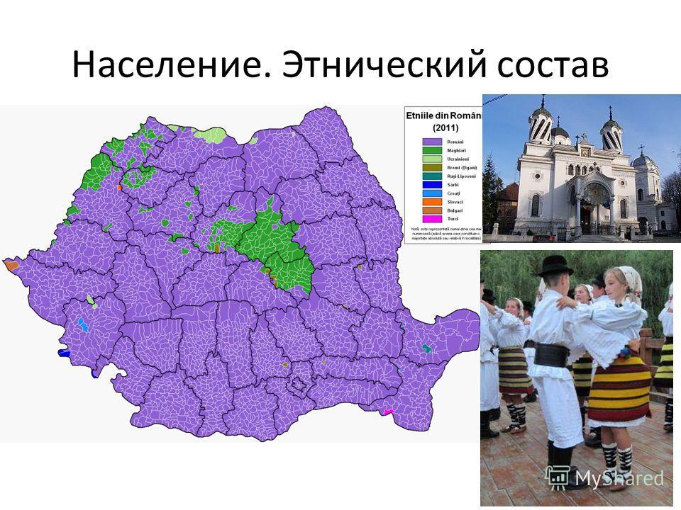 Население. Этнический состав