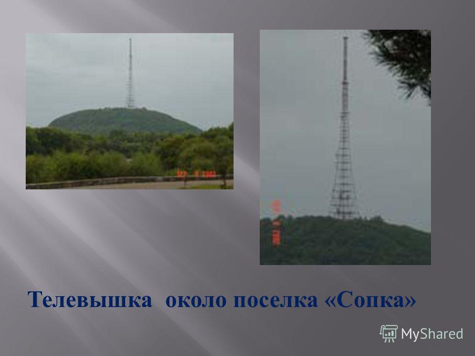 Телевышка около поселка « Сопка »